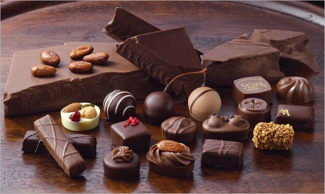 チョコレートの効果